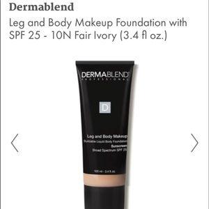 Dermablend leg and body makeup in fair ivory (10N)